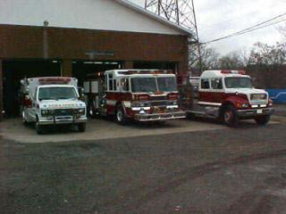 Fire Dept vehicles