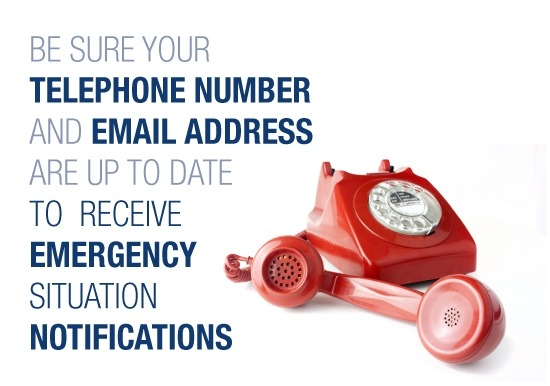 Update Emergency Contact Information Slideshow